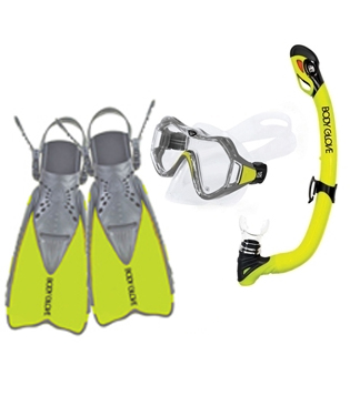 Body glove snorkel gear logically correctly